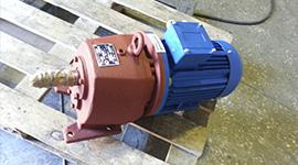 фото цилиндрического мотор-редуктора мц2с с завода