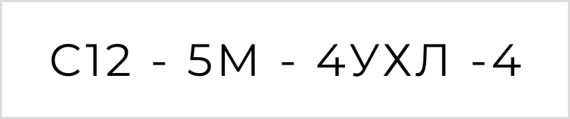 Условное обозначение и расшифровка маркировки смазочного насоса С12